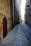Narrow street at Chuiclana Stock Image