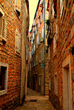 Narrow street Stock Photos