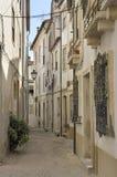 Narrow street in Coimbra Stock Image
