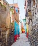 The narrow street Royalty Free Stock Photos