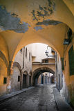 Narrow street in Florence Royalty Free Stock Photos