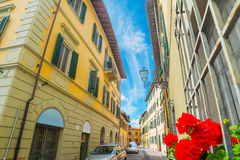 Narrow street in Florence Royalty Free Stock Photography