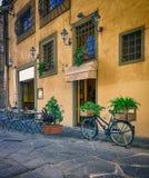 Narrow street in Florence, Tuscany Stock Photography