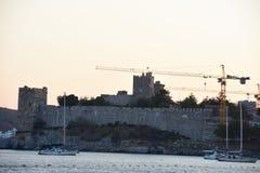 Bodrum Castle,Turkey stock photography
