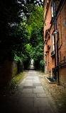 Narrow street Stock Photos