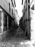 The narrow street. Honfleur, France Stock Photo