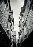 Narrow Street In Trogir Royalty Free Stock Photography
