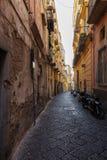Narrow street in Italy. Royalty Free Stock Photos