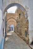 Narrow street in Kairouan medina Royalty Free Stock Photos