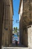 Narrow street La Ciotat Royalty Free Stock Photo