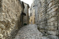 Narrow street of Lacoste Royalty Free Stock Photography