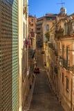Narrow street of Lisbon Royalty Free Stock Photography