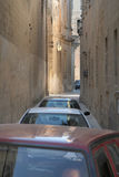 Narrow street in Malta Stock Photos