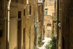 Narrow street in  Malta. Narrow street in Valletta - the capital of Malta Stock Images