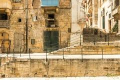 Narrow street in  Malta. Narrow street in Valletta - the capital of Malta Royalty Free Stock Photo