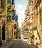 Narrow street in  Malta. Narrow street in Valletta - the capital of Malta Stock Photo