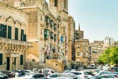 Narrow street in  Malta. Narrow street in Valletta - the capital of Malta Stock Image