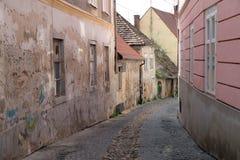 Narrow street in Maribor Stock Image