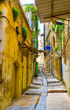 The narrow street Royalty Free Stock Images