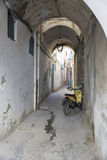 Narrow street in the medina, Tunis Stock Photos