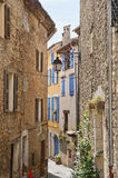 Narrow Street in Montauroux Royalty Free Stock Photos