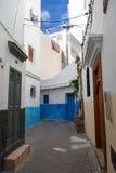 Narrow street of old Medina. Tangier, Morocco Stock Photos