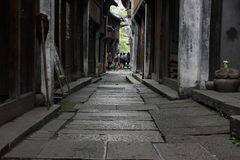The narrow street Stock Images