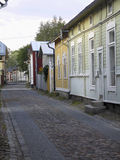Narrow street in the old town Stock Photos