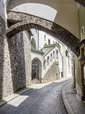 Narrow street Passau Stock Photos