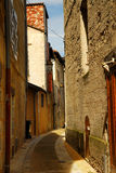 Narrow street in Perigueux Stock Photo