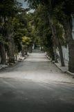 Narrow street in princess island Stock Photos
