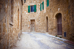 Narrow street in Ravenna Stock Photos