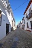 Narrow street Ronda Spain Royalty Free Stock Photo