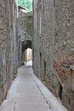 Sisteron, France. Narrow street in Sisteron, France Stock Photo