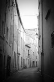 Narrow street in France Royalty Free Stock Photos
