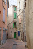 Narrow street in Royalty Free Stock Photos