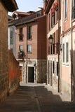 Narrow street in Spain stock photos
