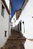 Narrow street in Spain Stock Image