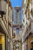 Street in Split, Croatia. Narrow street in Splitr old town, Croatia Royalty Free Stock Photo