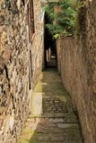 Narrow street Royalty Free Stock Photos