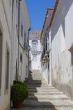 Narrow street in Tavira Royalty Free Stock Photos