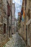 Street in Trogir, Croatia. Narrow street in Trogir old town, Croatia Stock Photos