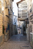 Narrow street. Tzfat (Safed). Israel. Royalty Free Stock Photos