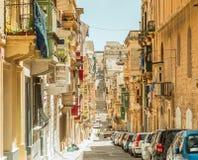 Narrow street in  Malta. Narrow street in Valletta - the capital of Malta Royalty Free Stock Photography