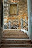 Narrow street in Venice Stock Photos