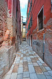 Narrow Venice Royalty Free Stock Photo