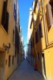 Narrow street in Venice Royalty Free Stock Image