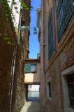 Narrow street in Venice Royalty Free Stock Photos
