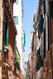 Narrow street from Venice, Italy Stock Photos