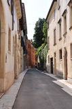 Narrow street of Verona Royalty Free Stock Images